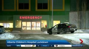 Alberta Children's Hospital put on lockdown