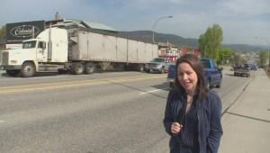 Vehicle hits Vernon house; narrowly misses sleeping woman