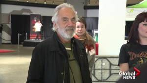 Tommy Chong helps celebrate legalized marijuana in Kelowna