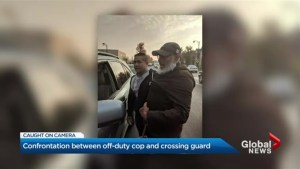 Older crossing guard gets into scuffle with off-duty Toronto cop