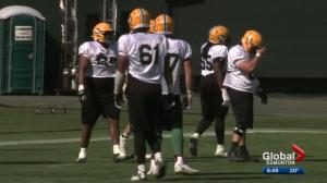 Edmonton Eskimos on Day 5 of 2019 training camp
