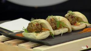 Tacos and meatballs with Riverside Bistro