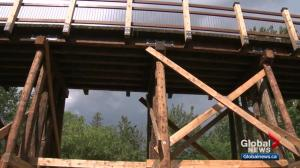 Mill Creek Ravine pedestrian bridges reopen