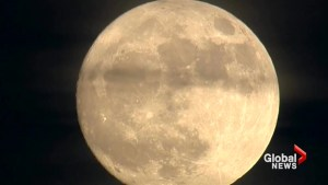 Double supermoon in January a rare event