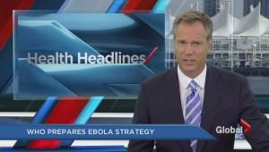WHO prepares Ebola strategy