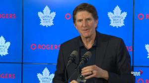 Babcock alludes to Auston Matthews' shift length as reason for lack of ice time