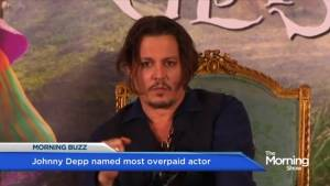 Johnny Depp is Hollywood's Most Overpaid Actor