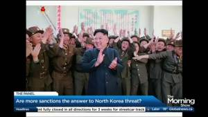 Is more sanctions the answer to deal with the North Korean threat?