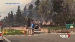 Video shows devastation inside Waterton National Park