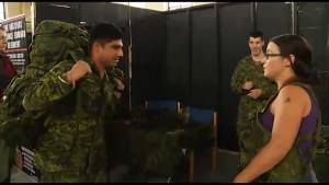 Canadian Armed Forces host open house at Peterborough Armoury