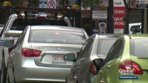 New report highlights parking concerns in downtown Edmonton