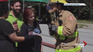 Kittens rescued from Maple Ridge House fire