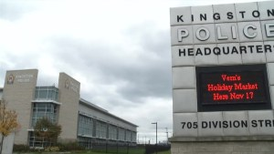 Province holding $1.6 million in grants from Kingston police