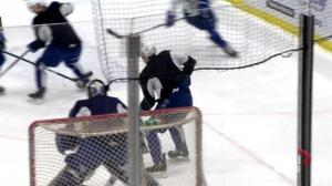 Haden finds scoring touch, new nickname with Saskatoon Blades