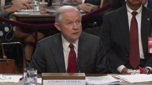 Sessions won't invoke executive privilege, invokes 'appropriateness'