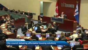 Council urges Mayor Tory to deal with city's affordable housing crisis
