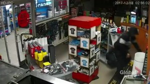 EXCLUSIVE: Camera captures Pickering pro shop break-and-enter suspect