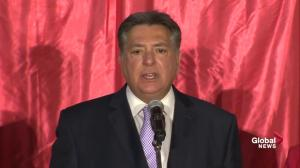 Ontario Election: Liberal Charles Sousa thanks supporters after projected loss