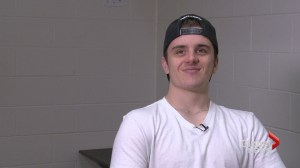 'Getting back on the ice is heartwarming': Ryan Straschnitzki talks sledge hockey