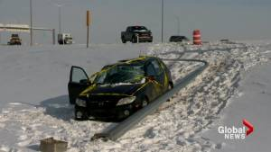 Road conditions in the city of Calgary causing problems