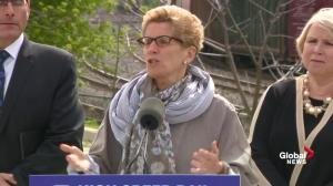 Wynne: High-speed trains should have been built 40 years ago