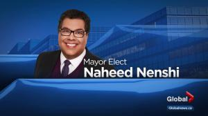 Global Calgary calls Naheed Nenshi as mayor of Calgary