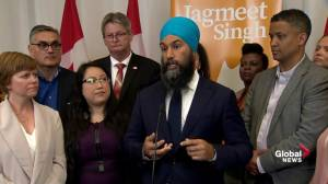 Singh explains proposal to end criminalization of drugs