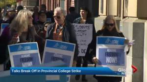 Ontario college faculty will vote on offer (02:13)