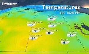Saskatoon weather outlook: slightly warmer Thanksgiving weekend