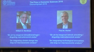 Nobel Prize for economics goes to 2 Americans for work on climate change