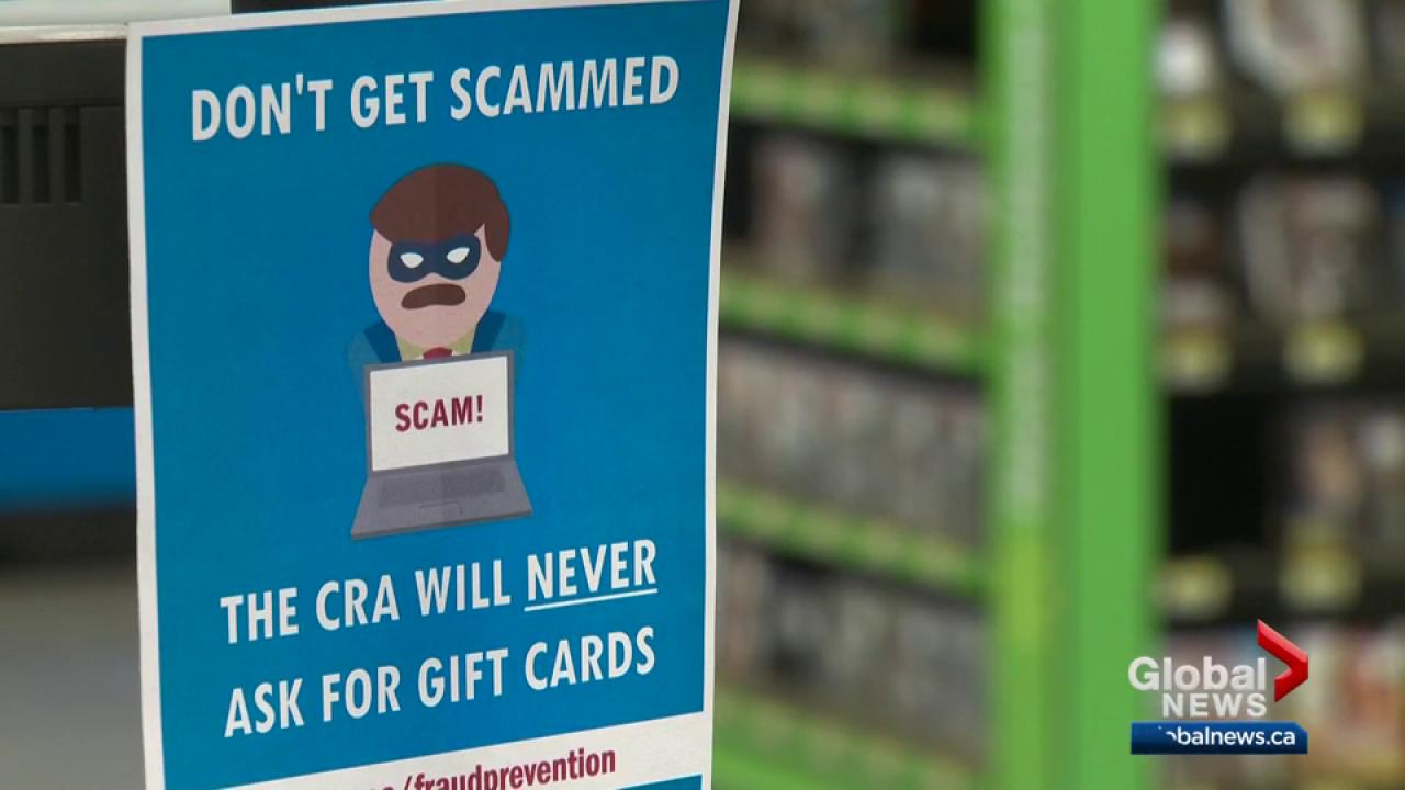Gift cards cannot pay your taxes, Edmonton police warn | Globalnews.ca