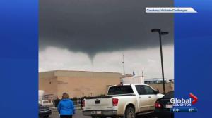 Funnel clouds spotted in Edmonton area