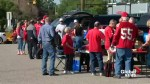 Stamps fans ready to tailgate before Western Final