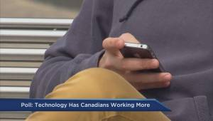 Poll: Technology has Canadians working more