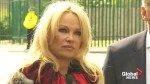 'We need to save his life': Pamela Anderson on Julian Assange
