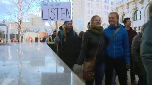 Winnipeg Women's March thinks locally