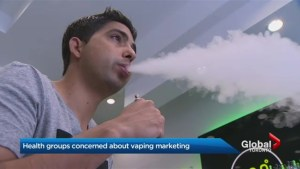 Health groups take a strong stand against marketing for vaping