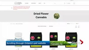 Names of Ontario Cannabis Store marijuana products raise concern