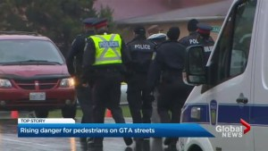 GTA police reiterate call for safety after spike in pedestrian collisions