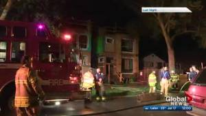 Arson under investigation in McKernan neighbourhood