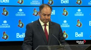 Senators GM on why the club flipped Erik Karlsson to the San Jose Sharks