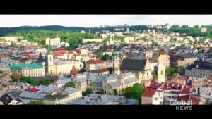 Ukraine becoming popular travel destination