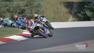 Peterborough-area rider Tomas Caasas finishes 4th in rookie season of Pro Superbike Series