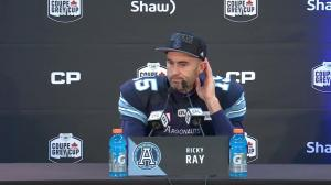 Argos QB Ricky Ray on Grey Cup win: 'We have so much belief in each other, it paid off for us'