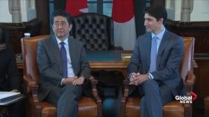Shinzo Abe expresses 'sympathy' for victims of flooding in Quebec, Ottawa and New Brunswick floods
