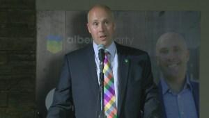 Raw: Alberta Party Leader Greg Clark Speech