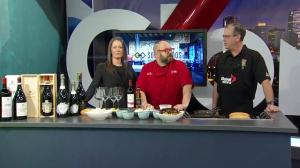 Sorrentinos & Giusti Wines Grey Cup Food