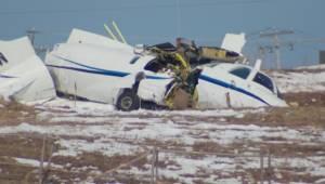 Investigation continues at crash site in Iles de la Madelaine