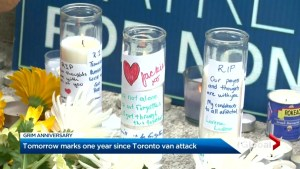 #TorontoStrong fund recipients give back