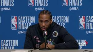 Kawhi Leonard on being 1-win from finals: 'It's a great opportunity'